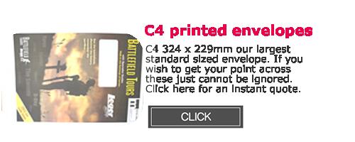 C4 Printed Envelopes