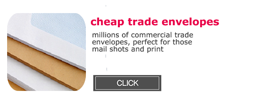 Cheap Trade Envelopes